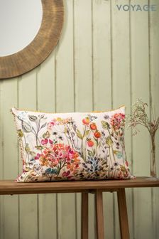 Voyage Pink Hedgerow Cushion