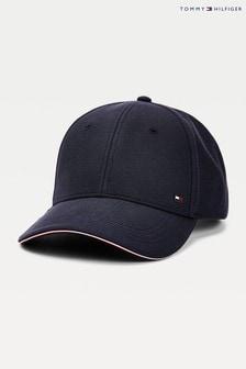 Синяя кепка в строгом стиле Tommy Hilfiger Elevated Corporate