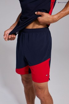 Tommy Hilfiger Blue Blocked Training Shorts