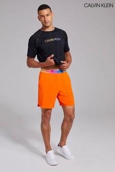 Calvin Klein Orange Pride Woven Shorts