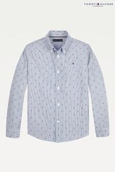 Рубашка из ткани добби Tommy Hilfiger