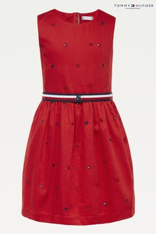 فستان Critter مطرز من Tommy Hilfiger