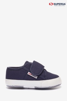 Superga Infant 4006 Baby Strap Trainers