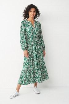 Long Sleeve Dress (M34832) | $47