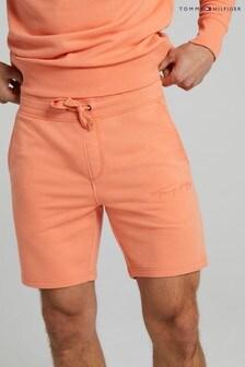 Tommy Hilfiger Orange Signature Sweat Shorts