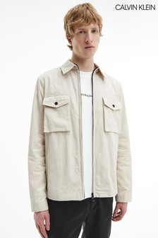 Calvin Klein Stone系列輕盈襯衫外套