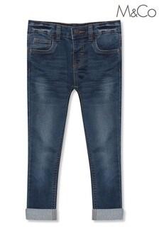 M&Co藍色窄管牛仔褲