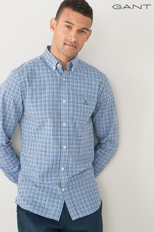 GANT Regular Broadcloth 3 Colour Gingham Shirt