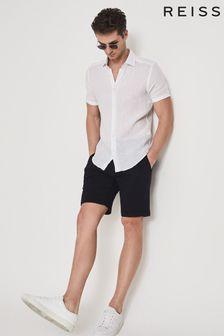 Reiss Piqué Cotton Jersey Shorts