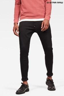 G-Star Black Revend Skinny Elto Nero Black F Superstretch Jeans