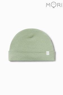 MORI Ribbed Beanie Hat In Organic Cotton & Bamboo