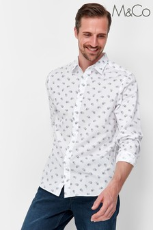 M&Co Bicycle Print Shirt