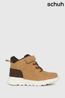 Schuh Tan Space Mid Boots