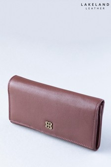 Lakeland Leather Rickerby 16cm Chesnut Brown Leather Purse