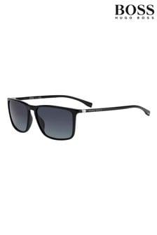 BOSS Square Black Sunglasses