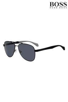 BOSS Black Pilot Sunglasses