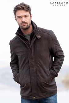 Lakeland Leather Skelwith Brown Leather Coat
