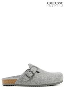 Geox Grey U Ghita Shoes