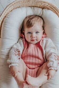 Purebaby Crinkle Bodysuit