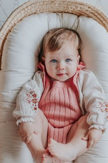 Purebaby Knitted Bodysuit