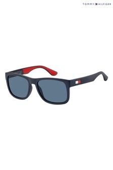Tommy Hilfiger Navy Logo Sunglasses