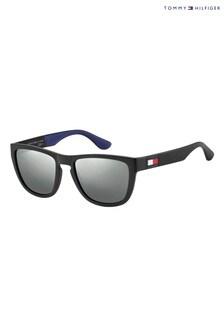 Tommy Hilfiger Black Logo Sunglasses