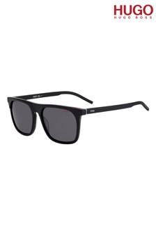 HUGO Black Square Sunglasses