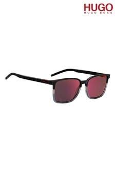 نظارة شمسية بإطار متدرج أسود/رمادي من HUGO