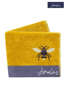 Joules Gold Botanical Bee Towel