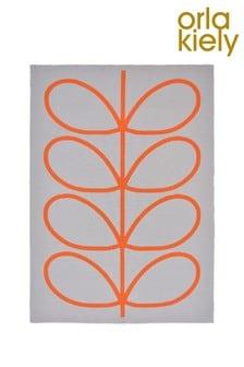 Orla Kiely Orange Giant Linear Stem Rug