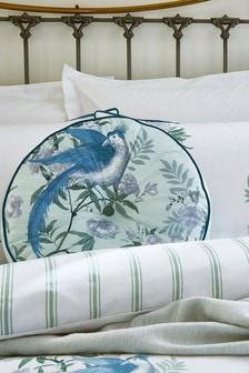 Laura Ashley Sage Green Osterly Cushion