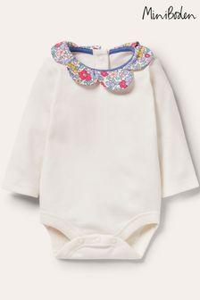 Boden Girls Interest Collar Bodysuit