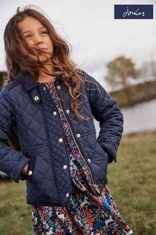 Niebieska kurtka pikowana Joules Newdale