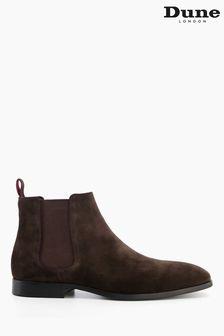 Dune London Brown Mantle Chelsea Boots