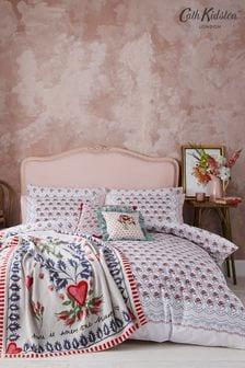 Cath Kidston White Cherished Duvet Cover and Pillowcase Set