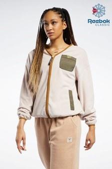 Reebok Classics Polar Fleece Zip-Up Jacket