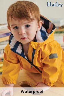 Желтый детский комбинезон на махровой подкладке Hatley