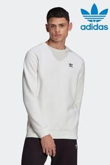 adidas Adicolor エッセンシャル トレフォイル クルーネック スウェットシャツ