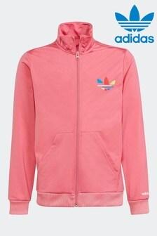 Розовый спортивный топ adidas Adicolor