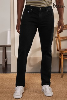 Boden Black Straight Leg Jeans