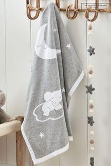 שמיכה לתינוק של The White Company דגם Sleepy Kimbo באפור