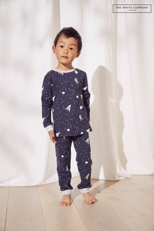 The White Company Glow In The Dark Outer Space Pyjamas