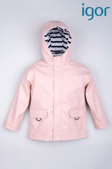 Igor Pale Pink Euri Raincoat