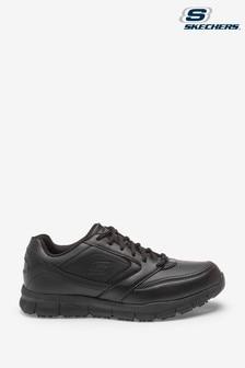 Skechers® Black Nampa Slip Resistant Trainers