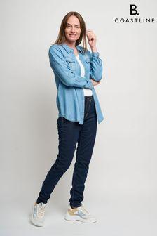 חולצה כחולה של B. Coastline