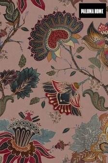 Paloma Home Pink Vintage Botanicals Wallpaper