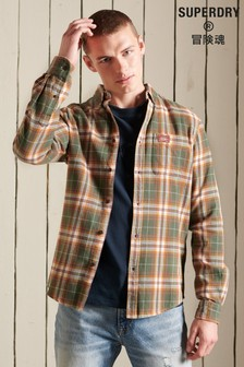 Superdry Organic Cotton Heritage Lumberjack Check Shirt