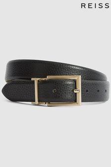 Reiss Archer Reversible Leather Belt