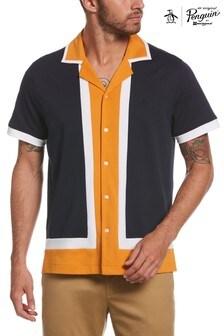 Original Penguin Knt Ss Retro Shirt