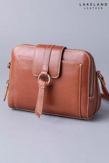 Lakeland Leather Birthwaite Leather Cross-Body Bag
